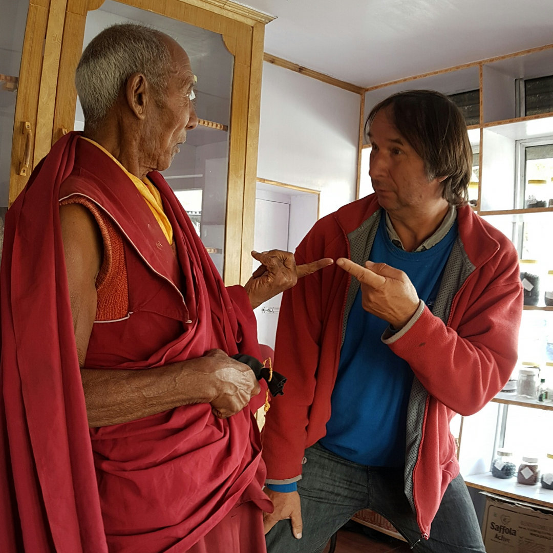 Der Mönch und ich